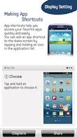 Screenshot of GALAXY SⅢ User's Digest