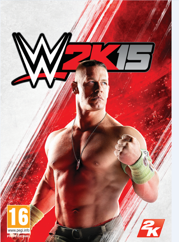 John Cena unveiled as the cover star for WWE 2K15