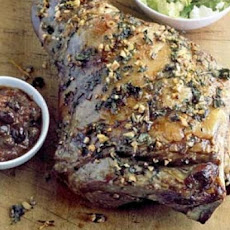Greek Roasted Lamb