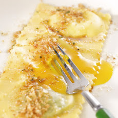 Soft Farm-Egg Ravioli