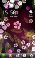 Screenshot of Luma Live Wallpaper