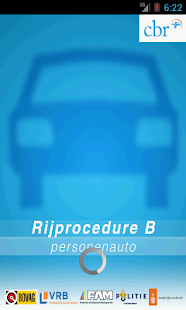 Rijprocedure B - screenshot
