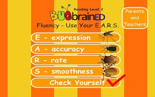 Screenshot of Fluency Level 2