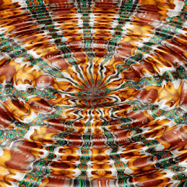 by Dipali S - Digital Art Abstract ( abstract, orange, ripples, background, photo manipulation )
