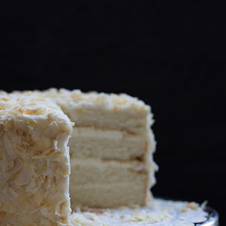 Birthday Coconut Cake