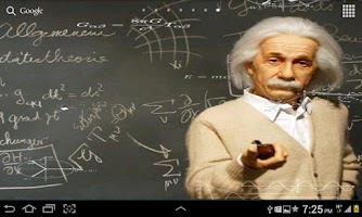Screenshot of Einstein HD Live WallPaper