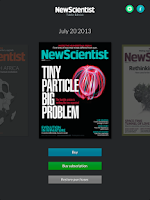 Screenshot of New Scientist