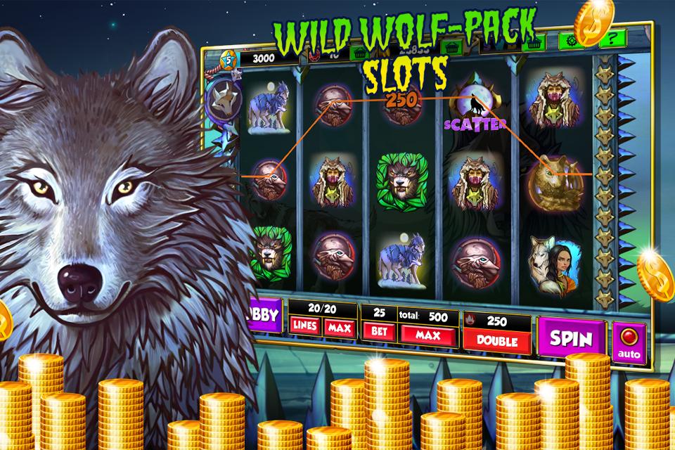 slot game wolf run