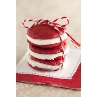 Cousin Johnnie's Red Velvet Whoopie Pie