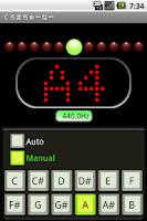 Screenshot of ChromaTuner