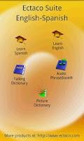Screenshot of English - Spanish Suite