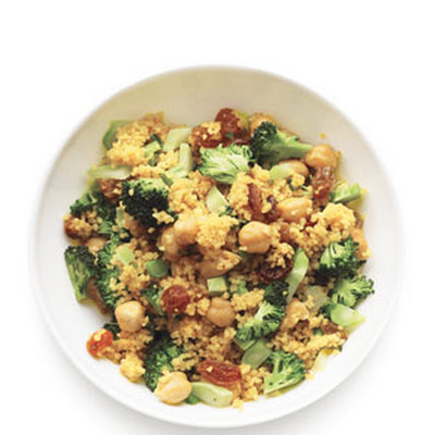 Curried Broccoli Couscous