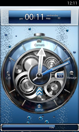 Tia Locker Blue Watch Theme