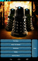 Screenshot of Doctor Who Monsters Quiz
