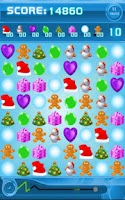 Screenshot of Jewels Space: Christmas Free