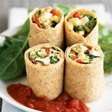 Egg and Vegetable Wrap