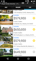 Screenshot of Georgia Real Estate
