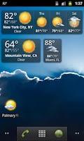 Screenshot of Palmary Weather