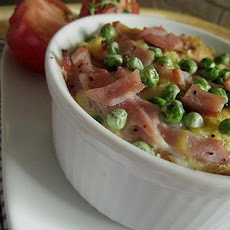 Low Fat Ham and Cheese Strata