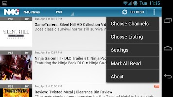 Screenshot of N4G Game News for Android