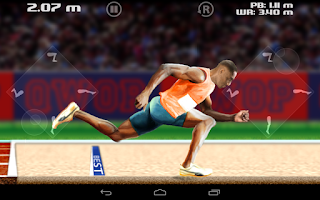 Screenshot of QWOP