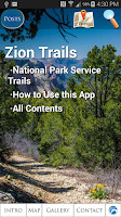 Screenshot of Zion National Park Trails