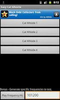 Screenshot of Easy Cat Whistle