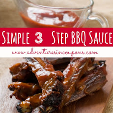 Simple 3 Step Homemade BBQ Sauce Recipe!