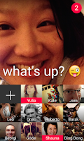 Screenshot of Taptalk: Photo&Video Messaging