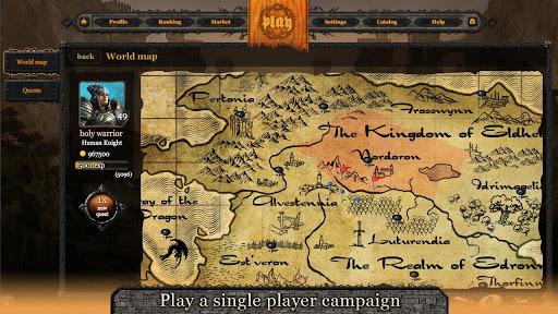 Eldhelm - online CCG/RPG/Duel - screenshot