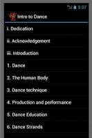 Screenshot of Intro 2 Dance