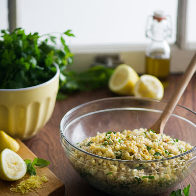 Roasted Corn Tabouli