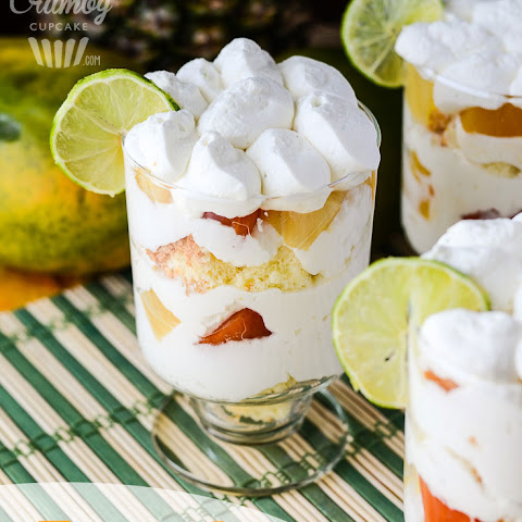 Tropical Yogurt Trifle