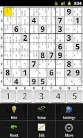 Screenshot of PG SuDoKu