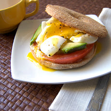 Soft Boiled Egg Bagel Sandwich