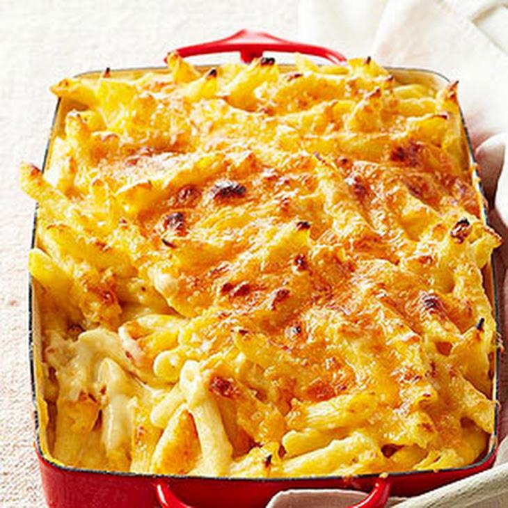 emeril s three cheese baked emeril s three cheese baked macaroni