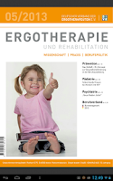 Screenshot of Ergotherapie and Rehabilition