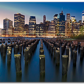 NYC, DUMBO, Parlor by Evaristo Regalado - City,  Street & Park  Skylines