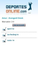 Screenshot of Deportes Online