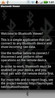 Screenshot of Bluetooth Viewer LITE