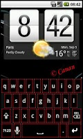 Screenshot of KB Skin : SmartRed