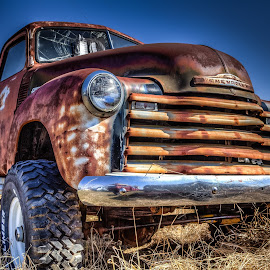 Chevy 4x4 by Ron Meyers - Transportation Automobiles