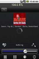 Screenshot of Radio Germany