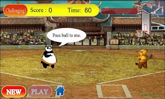Screenshot of Basket Panda