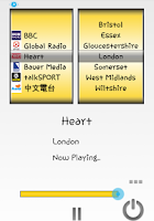 Screenshot of UK Radio