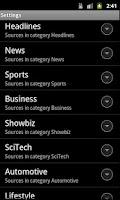 Screenshot of news|swipe