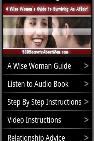 Wise Woman: Survive An Affair