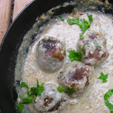 Garbanzo lime meatballs