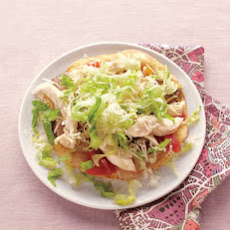 King Ranch Chicken Tostadas