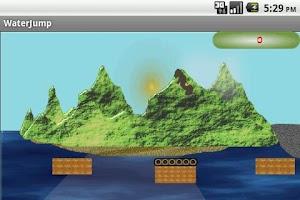 Screenshot of Water Jump (free)